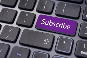 subscribe button website purple vibrant