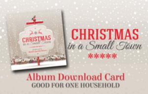 Christmas download card image