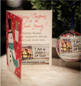 download card Christmas card pic